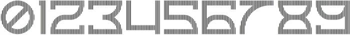 Horizon Linestwo otf (400) Font OTHER CHARS