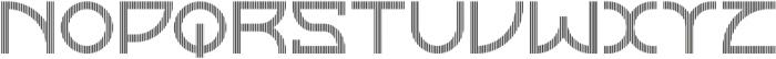 Horizon Linestwo otf (400) Font UPPERCASE