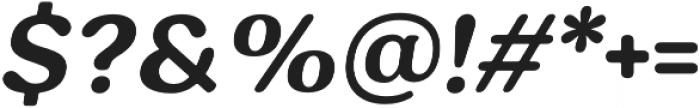 Hornbill otf (700) Font OTHER CHARS