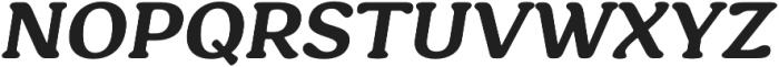 Hornbill otf (700) Font UPPERCASE