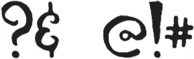 Hornimet otf (400) Font OTHER CHARS