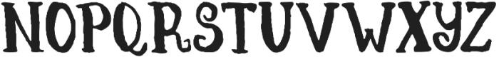 Hornimet otf (400) Font LOWERCASE