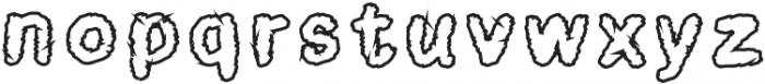 Horror School Regular otf (400) Font LOWERCASE