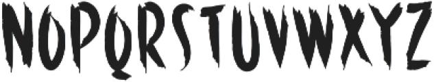 Horror otf (400) Font UPPERCASE