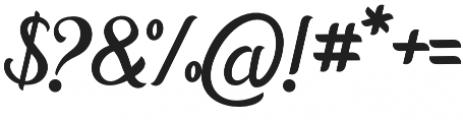 Horstail Regular otf (400) Font OTHER CHARS