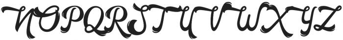 Horstail Regular otf (400) Font UPPERCASE
