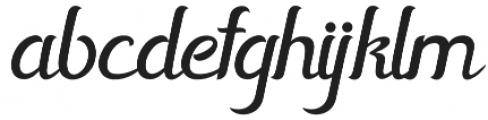 Horstail Regular otf (400) Font LOWERCASE