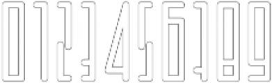 Horus Basic Outline otf (400) Font OTHER CHARS