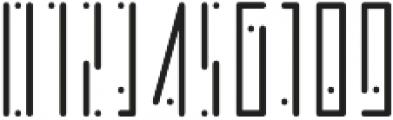 Horus Dot Light otf (300) Font OTHER CHARS