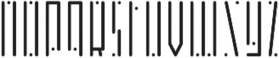 Horus Dot Light otf (300) Font LOWERCASE