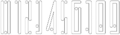 Horus Dot Outline otf (400) Font OTHER CHARS