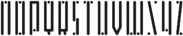 Horus Dot Regular otf (400) Font UPPERCASE