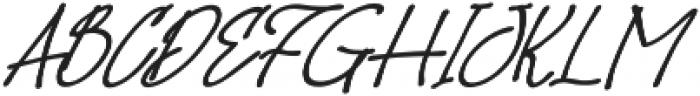 Hoslant otf (400) Font UPPERCASE