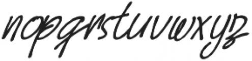 Hoslant otf (400) Font LOWERCASE