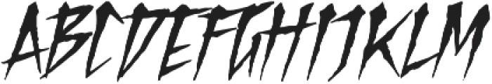 Hotfunk Clean otf (400) Font UPPERCASE