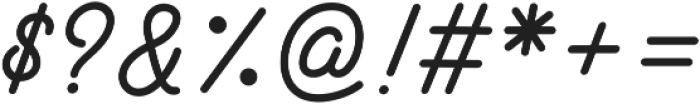 Hotline otf (400) Font OTHER CHARS