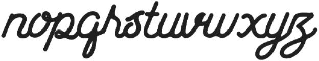 Hotline otf (400) Font LOWERCASE