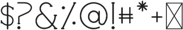 House Bold otf (700) Font OTHER CHARS