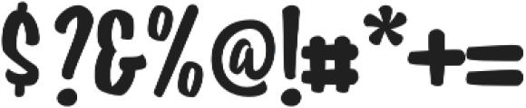 Housemate Regular otf (400) Font OTHER CHARS