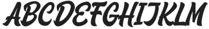 Houstander Allcaps otf (400) Font LOWERCASE