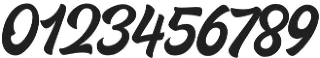 Houstander otf (400) Font OTHER CHARS
