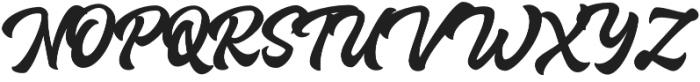 Houstander otf (400) Font UPPERCASE
