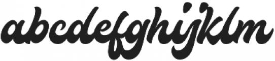 Houstander otf (400) Font LOWERCASE
