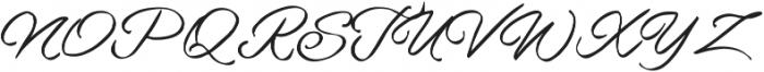 Howar Script otf (400) Font UPPERCASE