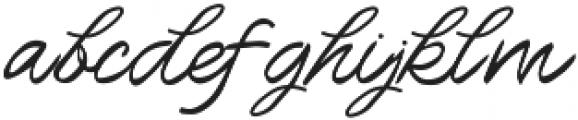 Howar Script otf (400) Font LOWERCASE