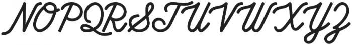 Howards Nine Regular otf (400) Font UPPERCASE