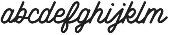 Howards Nine Regular otf (400) Font LOWERCASE