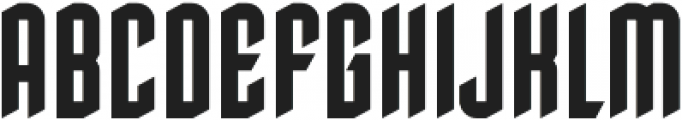 Howards Three Regular otf (400) Font UPPERCASE