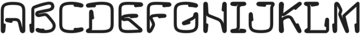 Howie Multicolor otf (400) Font UPPERCASE