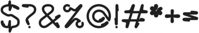 Howie Regular otf (400) Font OTHER CHARS