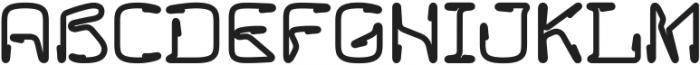 Howie Regular otf (400) Font UPPERCASE