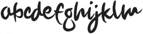 Howie otf (400) Font LOWERCASE