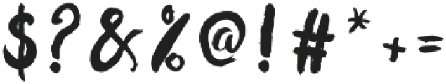hollic otf (400) Font OTHER CHARS
