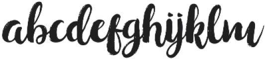 hollic otf (400) Font LOWERCASE
