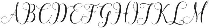 honilad Regular otf (400) Font UPPERCASE