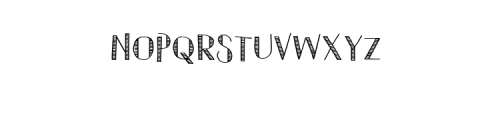 Hompy.ttf Font UPPERCASE