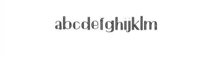 Hompy.ttf Font LOWERCASE