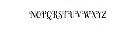 HoneyBee.otf Font UPPERCASE