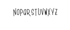 House story Font UPPERCASE