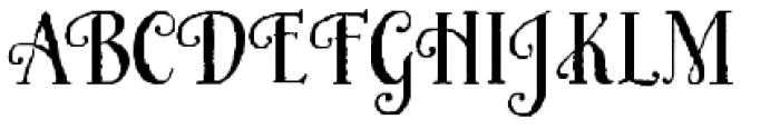 Honey Bee Font UPPERCASE