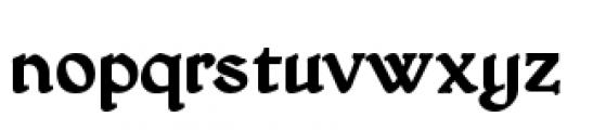 Honeymead BB Bold Font LOWERCASE