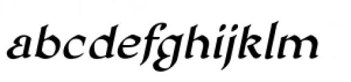 Honeymead BB Italic Font LOWERCASE