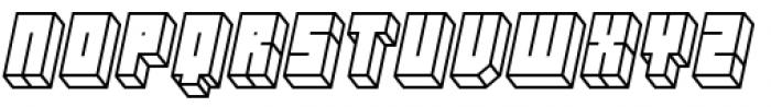 Hounslow Open Italic Font UPPERCASE