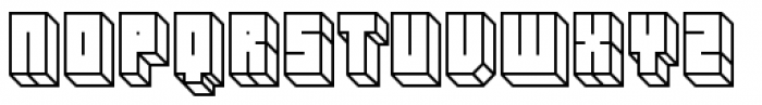 Hounslow Open Font UPPERCASE
