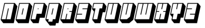 Hounslow Shadow Italic Font LOWERCASE