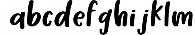 Honey Suckle, A Fresh Hand Lettered Font Font LOWERCASE